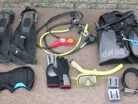 SCUBA Gear - Open Water Equipment - Complete Set - VG