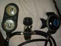 SHERWOOD MAGNUM SCUBA DIVING REGULATOR 1st & 2nd STAGE.