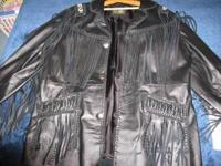 **Scully South Western Leather Jacket** - Size XL -