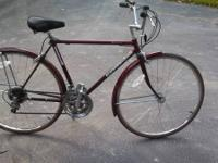 This is a very nice Schwinn from the late 80's early