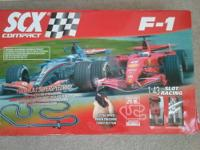Hello! Have a pretty rare SCX slot car set for sale. It