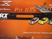 This is the scx 1:32 scale racing system pit box set.