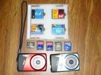SD camera cards,Compact flash, and Olympus XD cards and