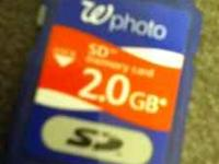 Memory sd card for sale. Never used it. Bought it for
