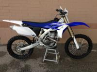 For Sale 2013 YZ250F with less than 10 hours! This bike