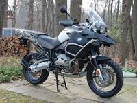 2010 BMW R 1200 GS Adventure. I bought this bike brand