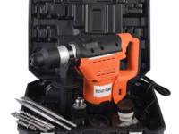 This is our electric rotary hammer drill kit which can