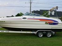 ~~001 Sea Ray 240 Sun Deck with a 5.7 Liter Mercury