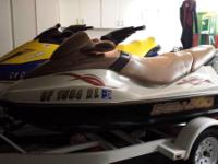 Original owner of 2004 sea doo GTI LE-RFI with aprox