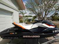 Sea-Doo 2011 GTI SE 130 w/ trailer, two anchors, and