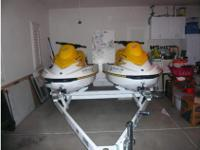 . These are two practically BRAND NEW 2005 Sea Doo