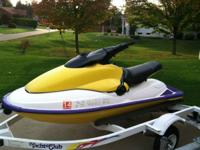 1995 Sea Doo hx, equipped with 717 motor,  rare ski