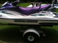 This 2002 Sea Doo GTI in in very good shape. It has a
