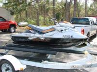 LIKE NEW 2008 Sea-Doo RXP 255 Jet Ski. Only 25 hours on