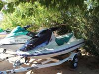 I have 4 Sea Doo's for sale. One is a 1996 Bombardier