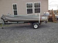 Great cond! Sea Nymph 14 ft deep v. 25 HP evinrude &