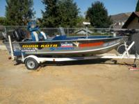 I am selling this BEAUTIFUL fishing boat, for a great,