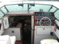boat is a 1989 23 foot weekender, 260 merc, nice shape