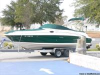 Sea Ray Sundeck 240/Mercruiser 5.0/2005 with swim