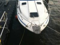25' Sundancer with aft cabin and head. Single owner