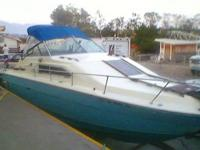 This beautiful TWIN CABIN cruiser is 27' long with a