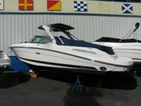 2011 Sea Ray 270 SLX. This watercraft is like brand-new