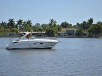 This 2012 Sea Ray 310 Sundancer is like new with only82