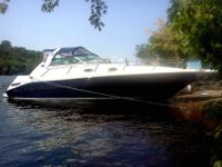 1996 sea ray 33 ft Sundancer with 410 hours, has two