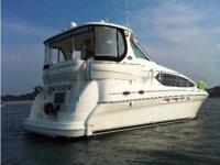 """Hi Floatin"" is an immaculately maintained Sea Ray 390"