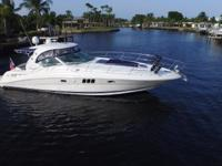 This 2007 Sea Ray 44 Sundancer is the cleanest and best