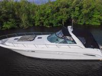 This Sea Ray 460 Sundancer is new to the market, in