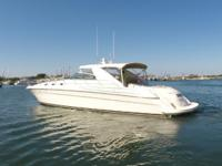 58 2000 Sea Ray Super Sun Sport - Twin 800hp 3406E