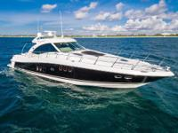 This Beautiful, Black-hulled 60 SunDancer is probably