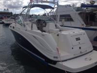 Beautiful 30 ft. 2006 Sea Ray Amber Jack 270 Great