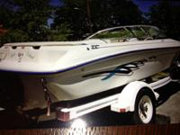Beautiful 1995 18' Sea Ray Bow Rider Ski & Fish. This