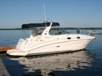 2004 Sea Ray Sundancer 280. This boat is loaded with