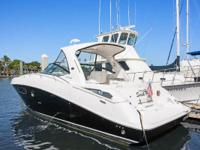 Original owner 2010 37 Sea Ray Sundancer with only 200