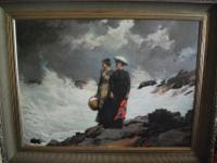 This is a Seascape by Homer 1891in excellent condition.