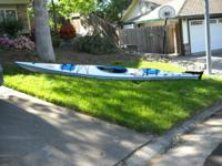 Necky Sea Kayak 16' with Rudder (20lbs lighter than