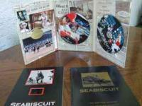 Seabiscuit 2-Disc Ultimate Gift set. Features: Racing