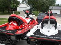 Two SeaDoo 2007 215HP Superchargd 4-StrokeBoth are