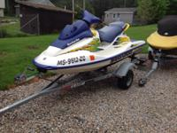 1997 Seadoo GSI with trailer and cover.