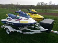 96 gsx seadoo 800cc up for sale. it's heaven one shown