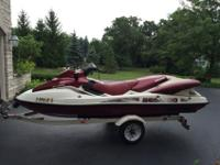 2000 SEADOO LRV by BOMBARDIER and Trailer - $4900 cost