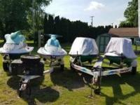 i have 2 sets of seadoo jet skis and trailers . 2200.00