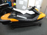 Get your fun on with an all new Sea Doo Spark. With