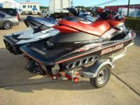 individual Seadoos with customized trailer, Seadoo
