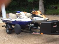 We have a 2002 Seadoo GTI and 2001 Seadoo GTX. Both