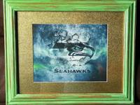 Seahawks Memorabilia for fans! Framed picture with