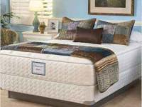 SEALY POSTUREPEDIC MATTRESS AND BOX SPRING WERE PLACED